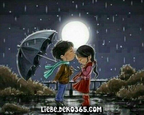 Liebe unter Vollmond - Liebe.deko365